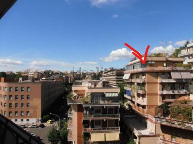 Attico Mansarda in Vendita a Roma Rampa Carlo Vizzardelli 6 Monteverde Vecchio