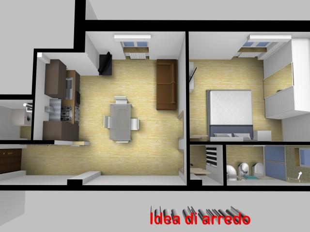 Appartamento in Affitto ad Ancona via Colleverde, Grazie
