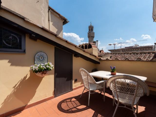 Appartamento in Affitto a Firenze Piazza della Signoria 200 Metri Dal Ponte Vecchio