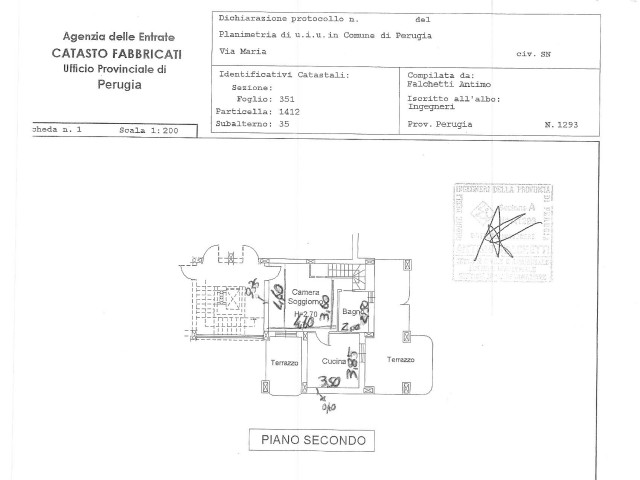 APPARTAMENTO IN VENDITA A PERUGIA 148000€ 153mq 5vani