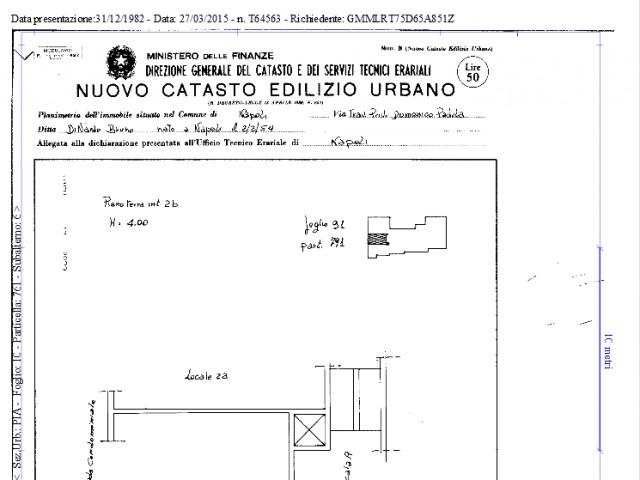 Negozio in Vendita a Napoli via Domenico Padula 121 Pianura