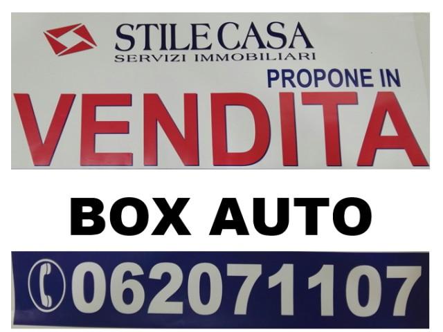 Box Posto Auto in Vendita a Roma via Bottidda, Finocchio