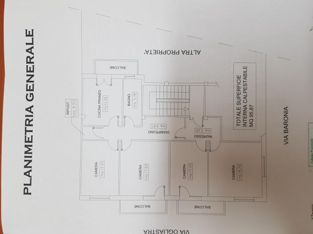 Appartamento in Affitto a Cagliari via Baronia 16 is Mirrionis