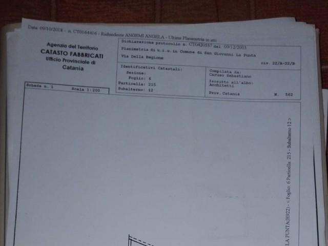 DEPOSITO MAGAZZINO IN VENDITA A SAN GIOVANNI LA PUNTA 60000€ 122mq 1vani