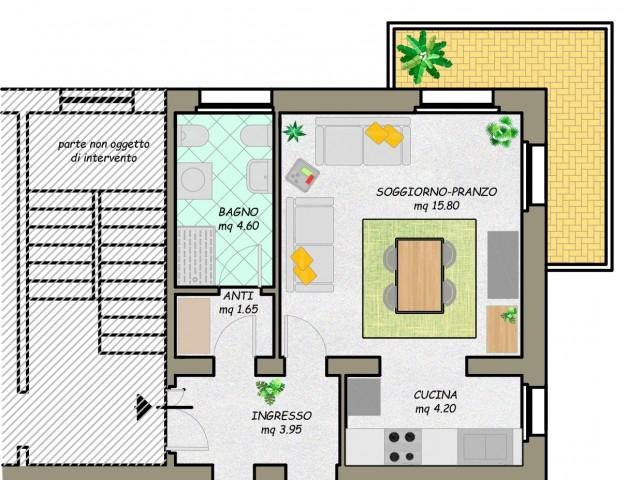 Appartamento in Affitto a Verona via Polesine 16, Borgo Roma
