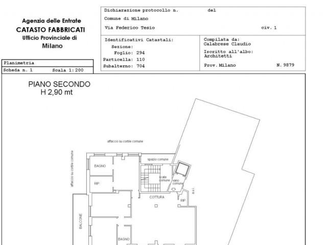 Appartamento in Vendita a Milanino via Tesio
