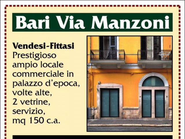 Locale Commerciale in Vendita a Bari via Manzoni San Pasquale