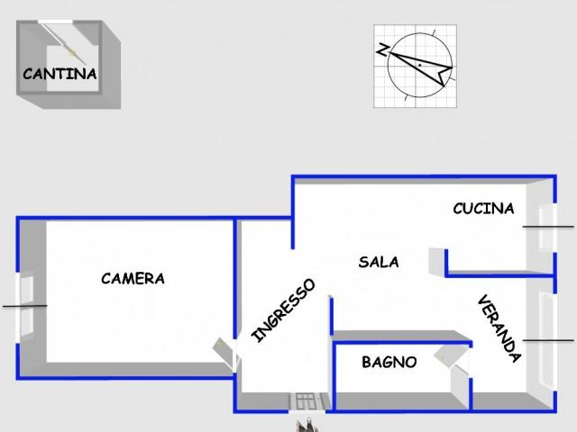 Appartamento in Vendita a Genova l go s Francesco da Paola 2 di Negro Alto