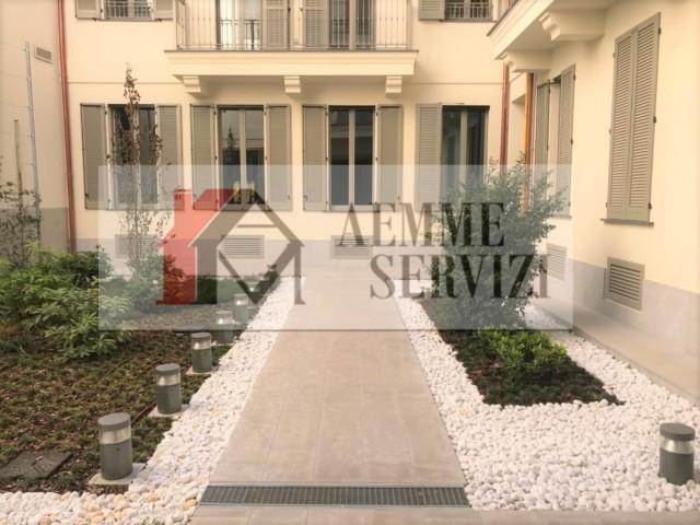 Appartamento in Affitto a Milano via Canonica
