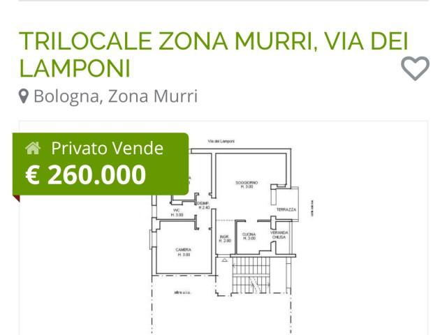 in Vendita a Bologna via Dei Lamponi Murri