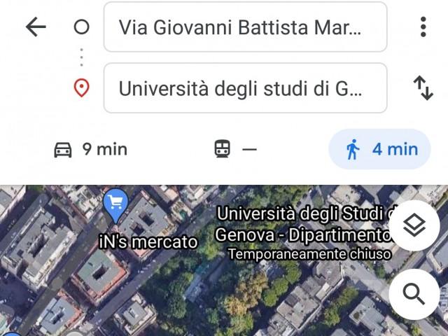 Posto Letto in Affitto a Genova via Giovanni Battista Marsano 2