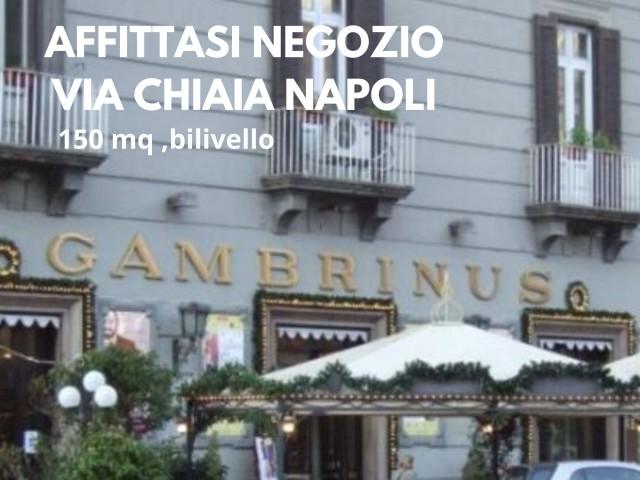 Negozio in Affitto a Napoli via Chiaia Chiaia