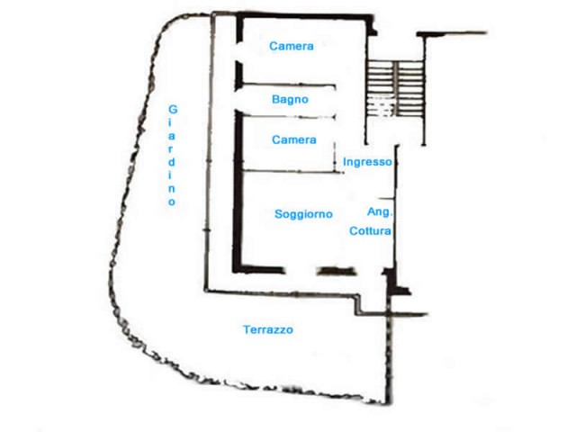 appartamento in vendita a pieve ligure via xxv aprile