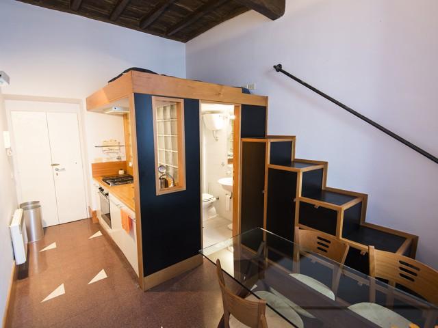 Appartamento in Affitto a Roma Vicolo del Farinone 31, Centro Vaticano