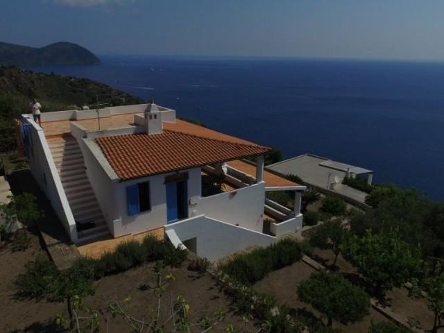 Villa Bifamiliare in Vendita a Lipari Localetà Cappero 98055 Lipari me Agenzia Eoliesolution via Salita Meligunis Lipari San Salvatore